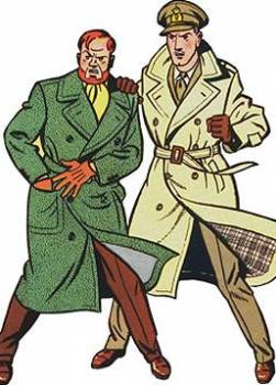photo Blake et Mortimer