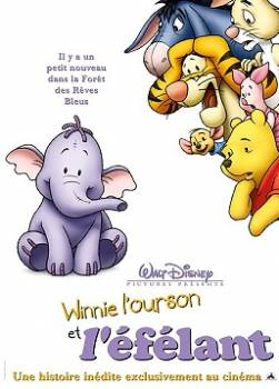 photo Winnie l'ourson et l'éfélant