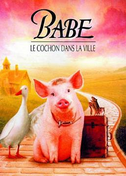 photo Babe, le cochon dans la ville
